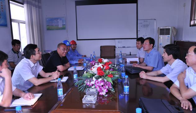 东营市委常委、秘书长李金昆率队到集团公司视察