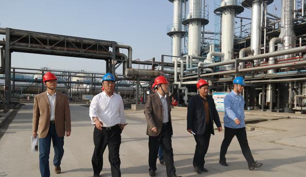 广饶县政府一行深入集团公司调研促进企业转型升级